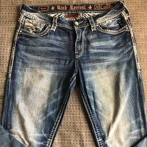 Woman's Saylah Rock Revival Jeans